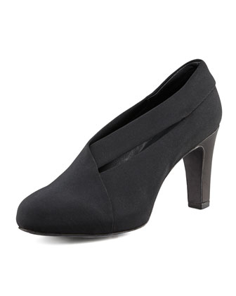 Peek Stretch Grosgrain Bootie