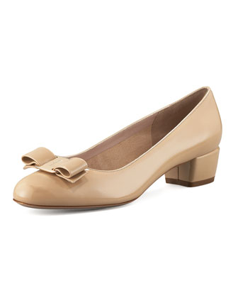 Vara-Bow Low-Heel Pump