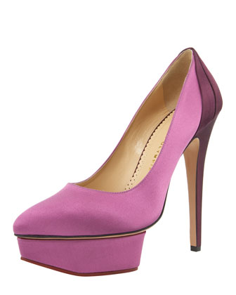 Colorblock Platform Pump
