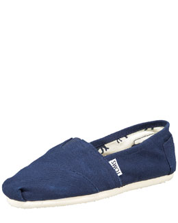 TOMS Classic Canvas Slip-On, Navy