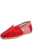 University Slip-On, Red
