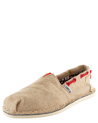 Bimini Boat Shoe, Natural