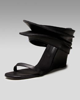 Rick Owens Accordion Wedge Slide