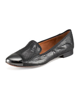 Sam Edelman Aster Cap-Toe Smoking Loafer
