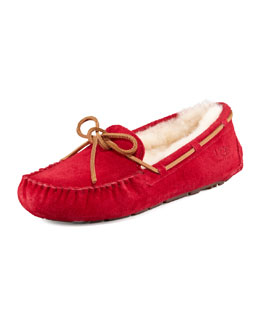 UGG Australia Dakota Shearling Tie-Slipper