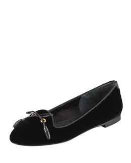 Tom Ford Velvet Smoking Slipper