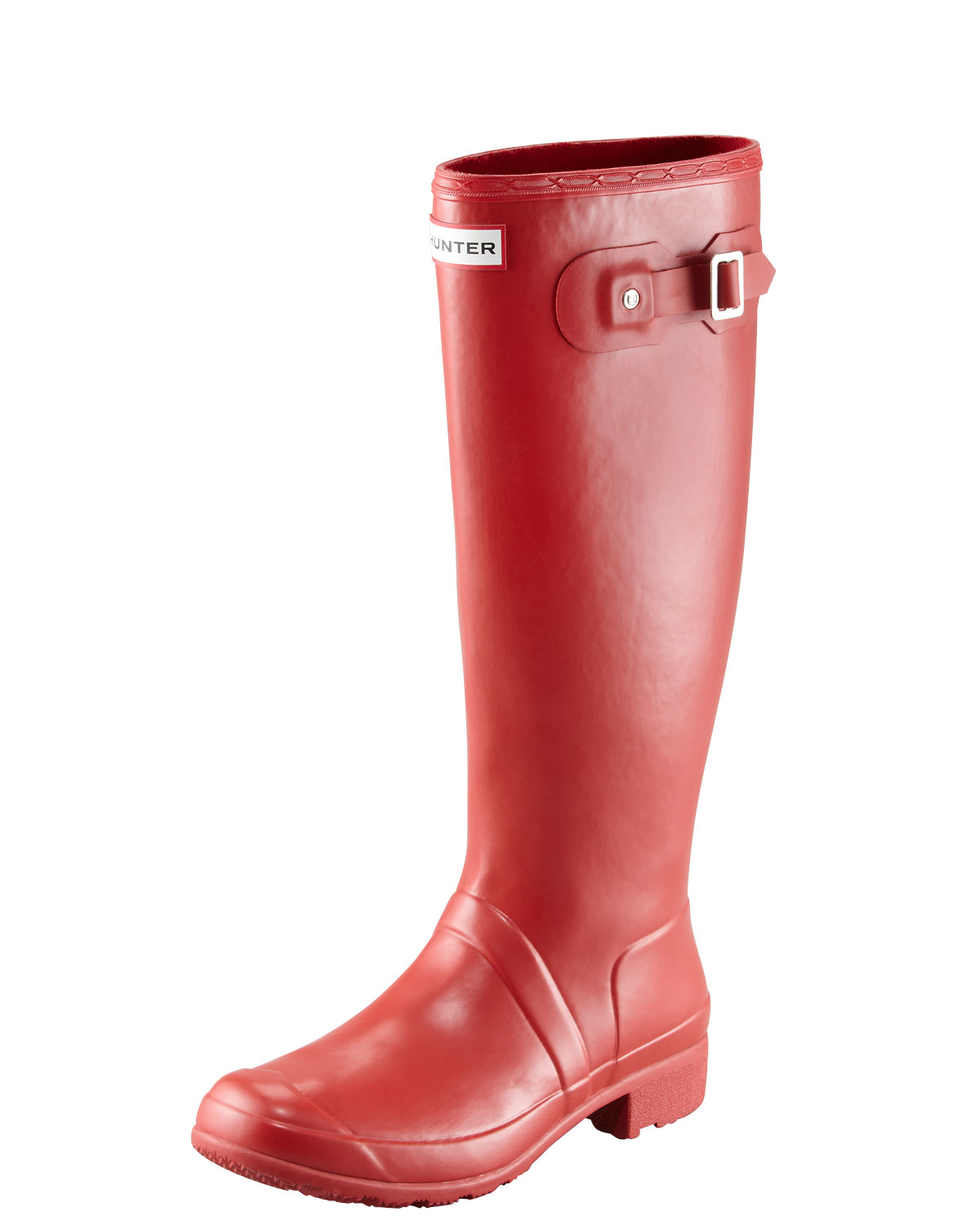 Original Tour Buckled Welly Boot, Red - Hunter Boot