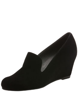 Stuart Weitzman Arise Loafer Wedge Pump