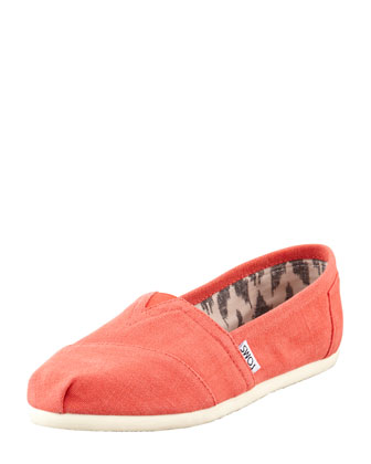 Earthwise Hemp Slip-On, Orange