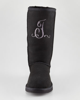 Monogrammed Classic Tall Boot