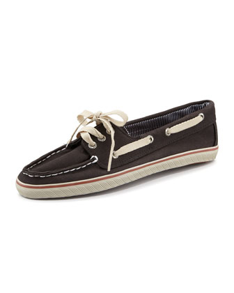 Cruiser Lace-Up Slip-On, Black