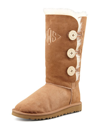 Monogrammed Bailey Button Tall Boot