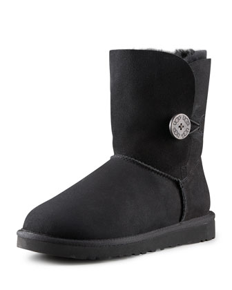 Bailey Button Short Boot, Black