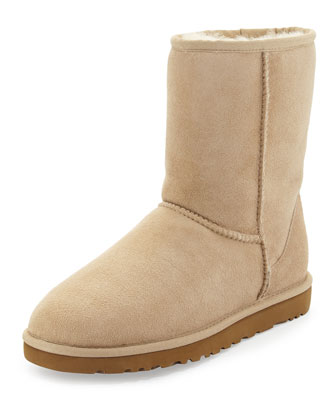 Classic Short Boot, Sand