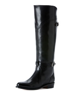 Frye Dorado Polished Leather Riding Boot