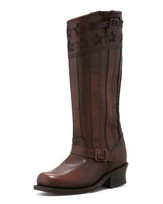 150th Anniversary America Engineer Boot, Dark Brown
