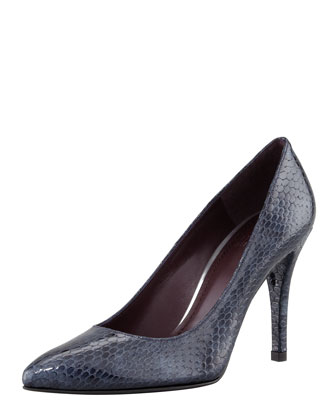 Power Pointy-Toe Pump, Sea