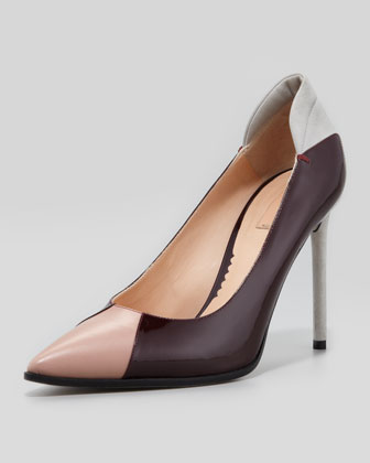 Academy Colorblock Point-Toe Pump