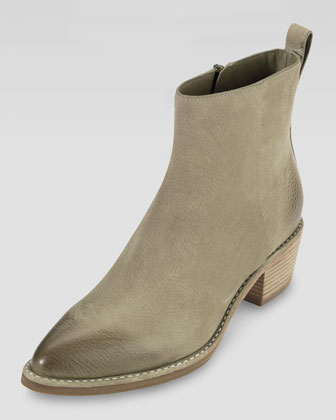 Reilly Short Nubuck Boot, Summer Khaki