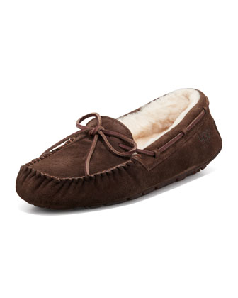 Dakota Tie-Slipper, Espresso