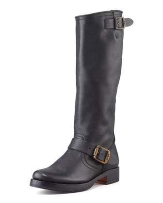 Veronica Slouchy Buckled Knee Boot