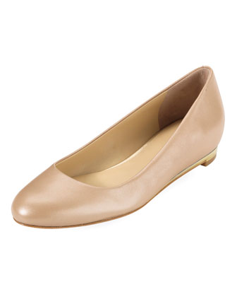 Astoria Ballerina Flat, Gold