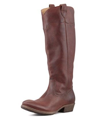 Carson Lug-Sole Riding Boot