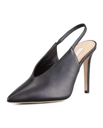 Beauty Pointy Toe Slingback Pump