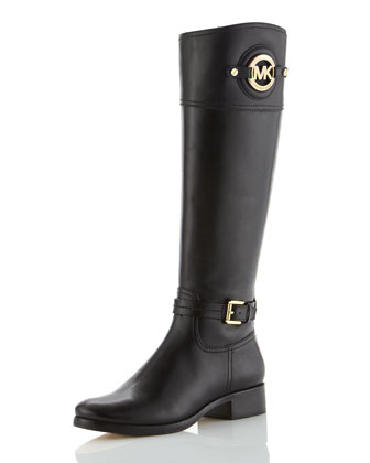 Stockard Leather Riding Boot