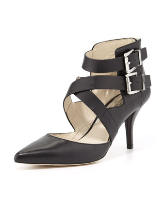 Tamara Cross-Strap Pump