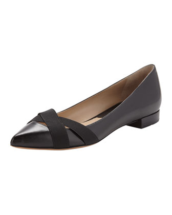 Jamelia Pointed-Toe Flat