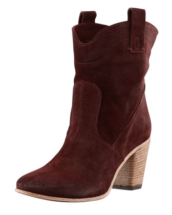 Chiara Slouchy Suede Ankle Boot