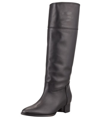 Equestra Knee-High Boot, Black