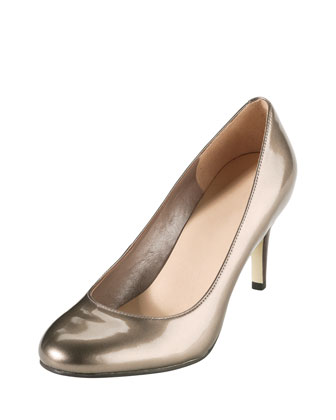 Air Lainey Patent Pump, Pewter