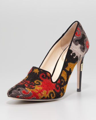 Rafferty Tapestry Pump, Multi