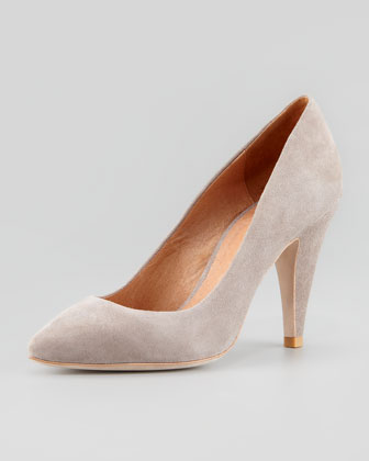 Gainor Suede Pump, Cement