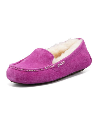 Ansley Moccasin Slipper, Cactus Flower