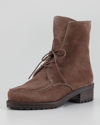 Stepout Suede Lace-Up Boot