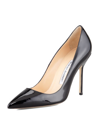 BB Patent 105mm Pump, Black (Made to Order)