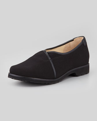 Jacob Stretch Fabric Slip-On, Black