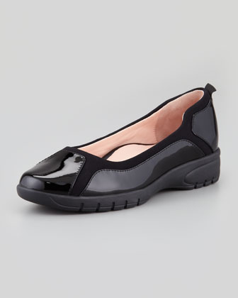 Adin Patent Slip-On, Black