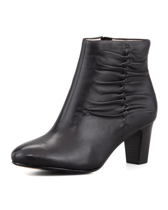 Dinah Leather Ankle Boot