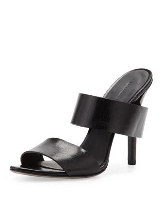 Masha Double-Strap Slide Sandal
