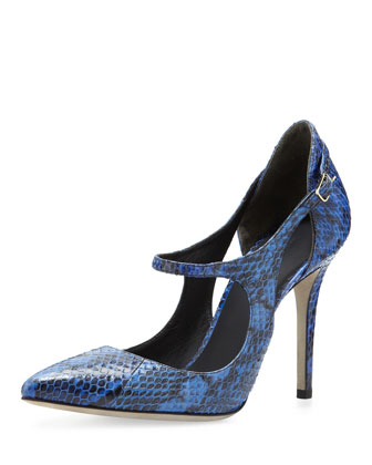 Inka Cutout Mary Jane Pump, Curacao