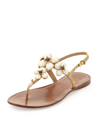 Jameson Embellished Thong Sandal