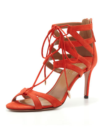 Beverly Hills Lace-Up Sandal