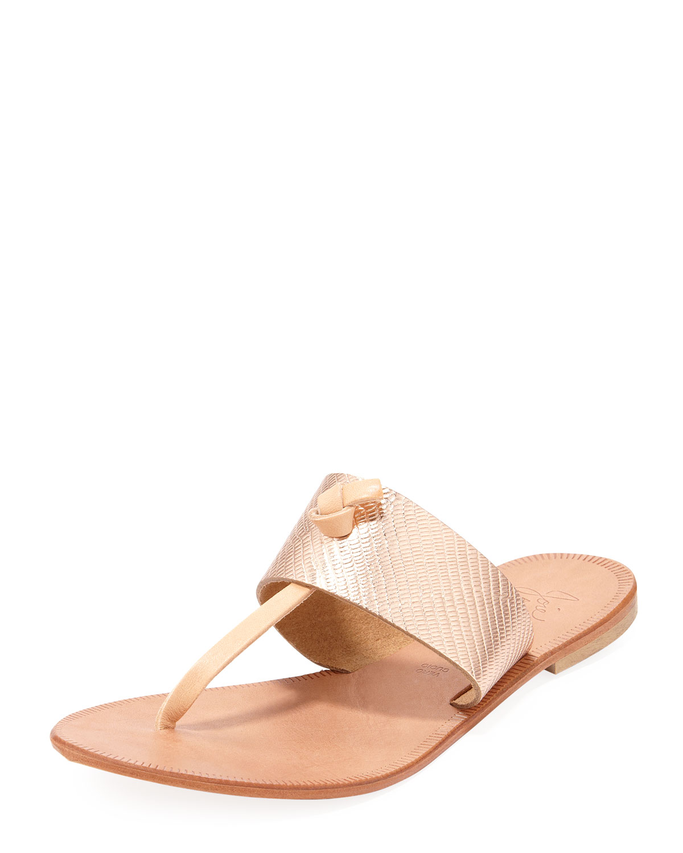 Nice T Strap Thong Flat Sandal, Rose Gold   Joie   Rose gold (35.5B/5.5B)
