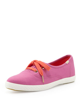 Keds Canvas Pointer Sneaker, Bougainvillea Pink