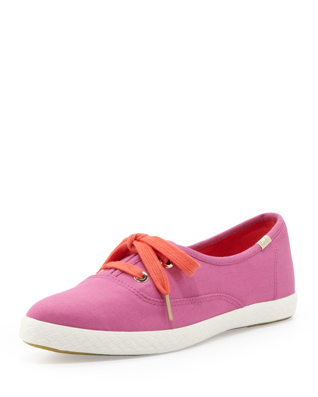 Keds Canvas Pointer Sneaker, Bougainvillea Pink   kate spade new york