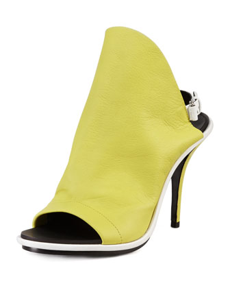 Glove Sandal, Lime